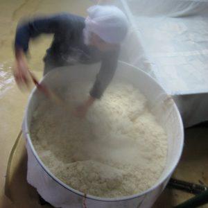 甑|蒸し米|球磨焼酎|