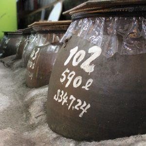 球磨焼酎|熟成|甕|