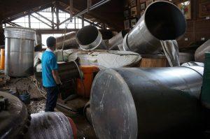 製造場|球磨焼酎|豪雨水害