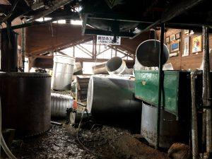 被災した製造場